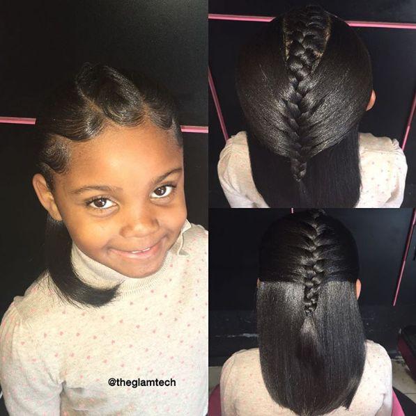 Magnificent 1000 Ideas About Black Kids Hairstyles On Pinterest Kid Short Hairstyles Gunalazisus