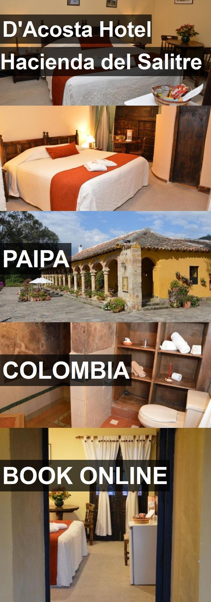 Hotel D'Acosta Hotel Hacienda del Salitre in Paipa, Colombia. For more information, photos, reviews and best prices please follow the link. #Colombia #Paipa #D'AcostaHotelHaciendadelSalitre #hotel #travel #vacation