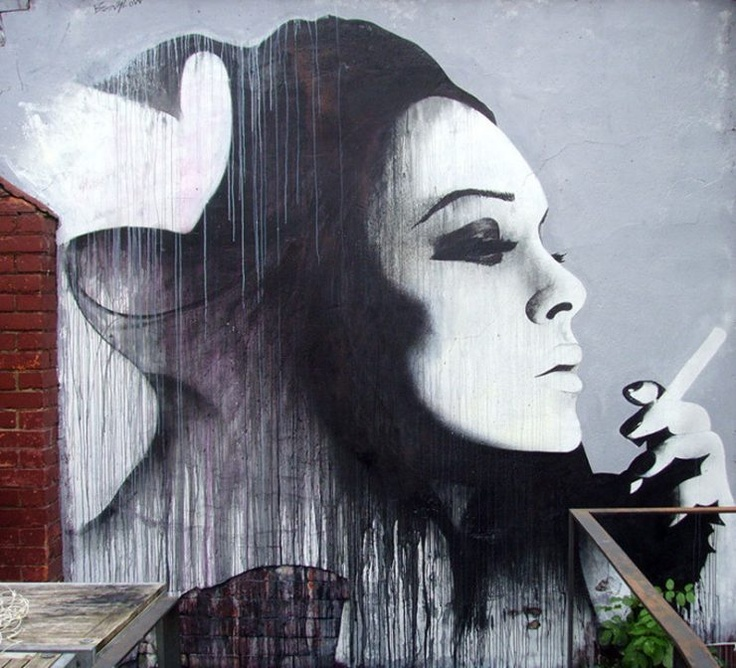Best Street Art Images On Pinterest Years Architecture - Guy paints over graffiti and rewrites them in a more legible way