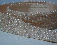 cinto de perolas para vestido de noiva - Pesquisa Google