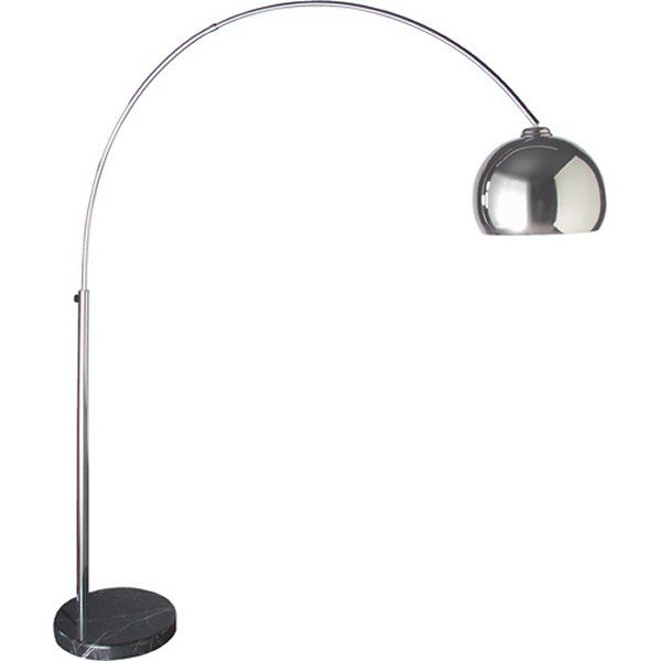"Coach House Large Extending ""Chrome"" Floor Standing Lamp"