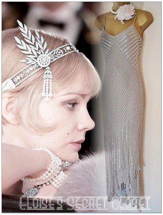 69 besten Gatsby 1920\'s Flapper Deco Inspired Dresses Bilder auf ...