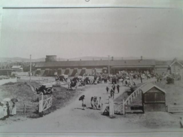 Byron Bay Railway Station.. early 1900's More