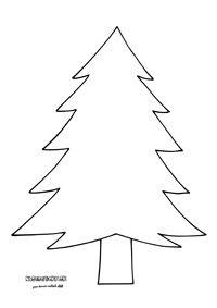 Stromček - vianočný pracovný list