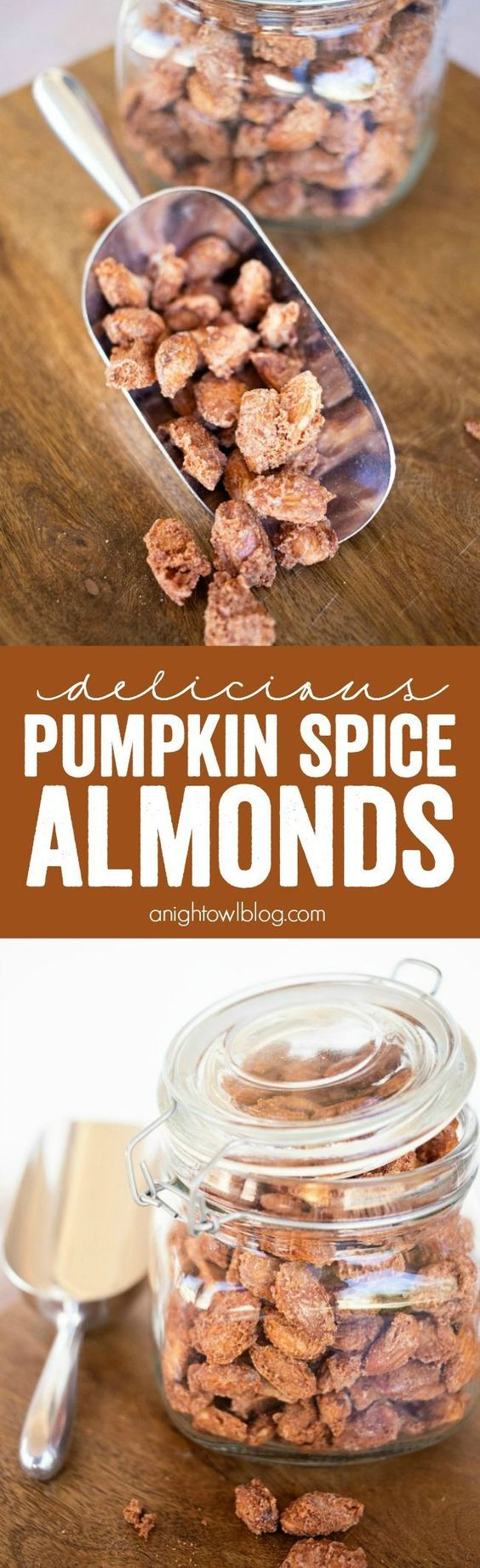 These Pumpkin Spice Almonds are easy to make and the perfect snack for the…