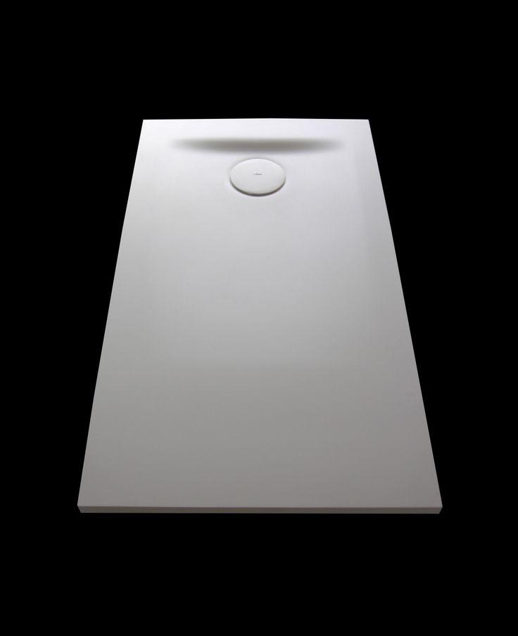 Corian shower tray by Inbani #bathroom #design