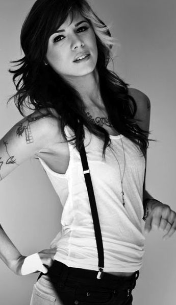 Christina Perri. Love her voice and songs!!