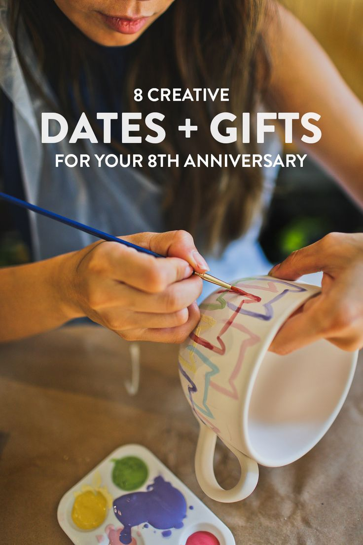 8 creative date ideas and 8th wedding anniversary gifts