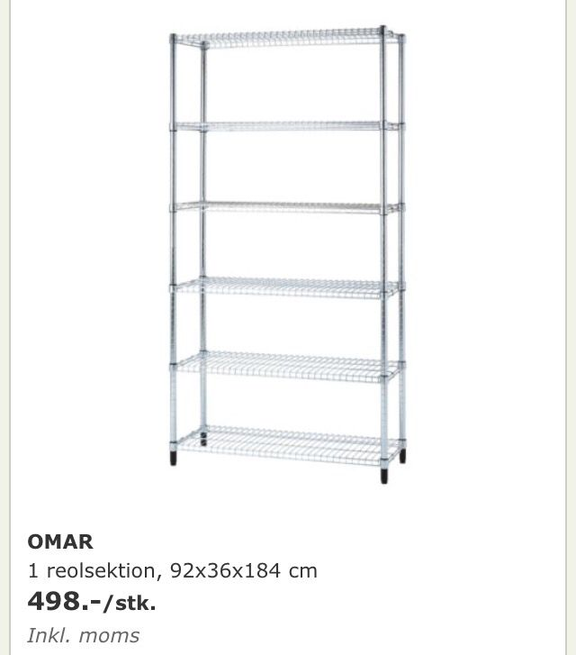 IKEA reol