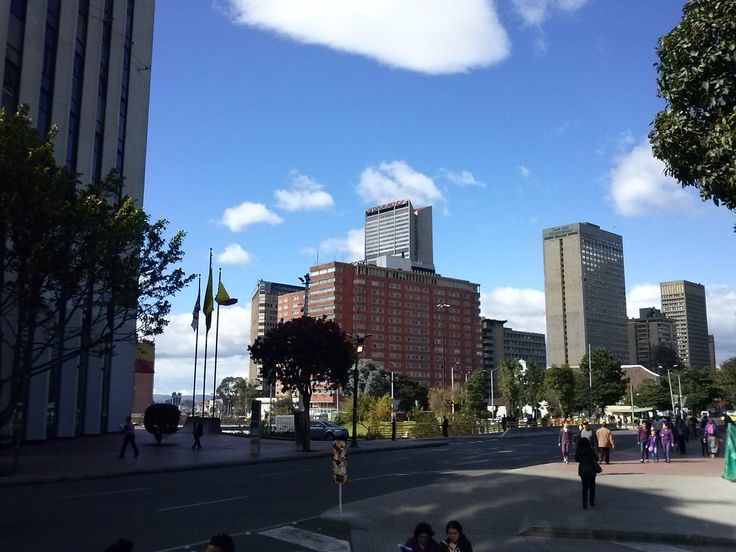 Centro de Bogota, cra 7 con calle 25
