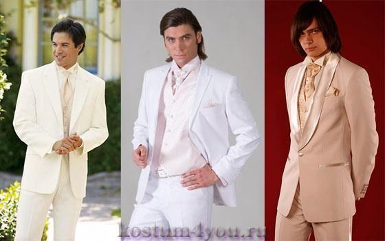 Как выбрать свадебный мужской костюм