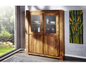 Witryna z drewna shisham - i20119