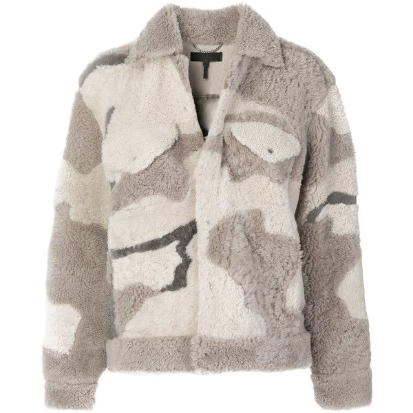 Rag & Bone /Jean camouflage print jacket (46.774.265 IDR) ❤ liked on Polyvore featuring outerwear, jackets, pink camo jacket, camouflage jacket, camoflauge jacket, camo print jacket and camoflage jacket