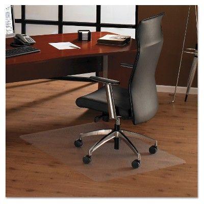 Floortex Cleartex Ultimate Anti-Slip Chair Mat, 3' x 4' - Clear