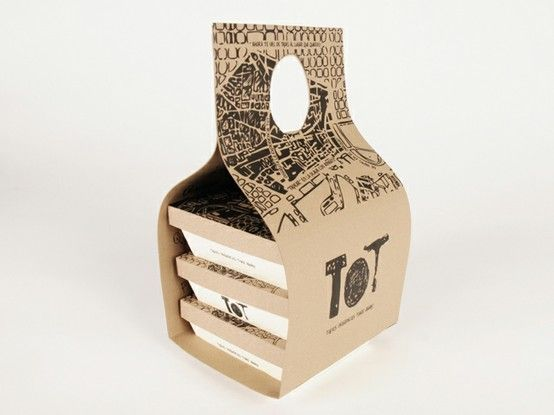 Cool take-away packaging