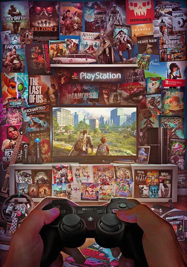 Pin by Teffie Yo on .Anime, etc. Retro gaming art, Game