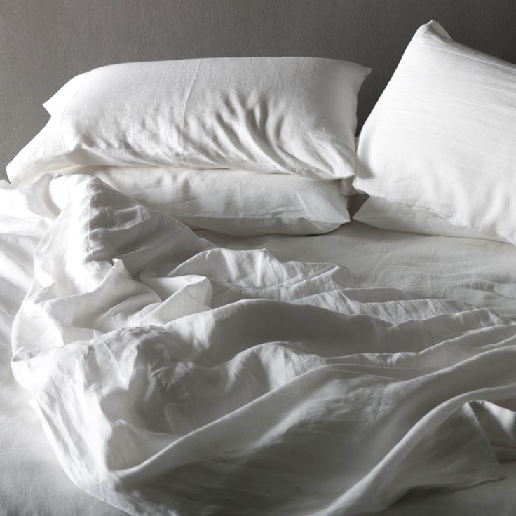 White pure linen sheet set - Christmas in #HTFSTYLE
