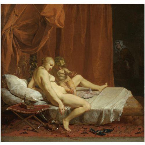 Nicolaus Knupfer Venus and Cupid