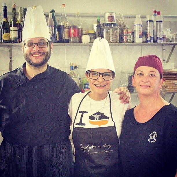 Entre dois grandes profissionais da cozinha #visitnonantola #blogville - Instagram by @Turomaquia Viagens & Arte Viagens & Arte