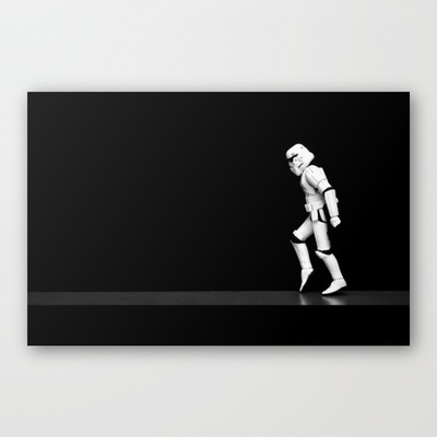 Stormwalking Stretched Canvas by Gareth Payne - $85.00