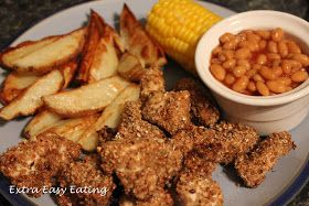 Slimming world kfc - must try with my homemade beans and sweet potato fries!