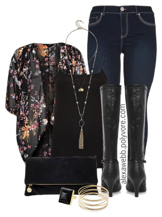 """Plus Size - Fall Kimono"" by alexawebb ❤ liked on Polyvore featuring maurices, GUESS, Clare V., Jules Smith, Jigsaw, outfit, plus and size"