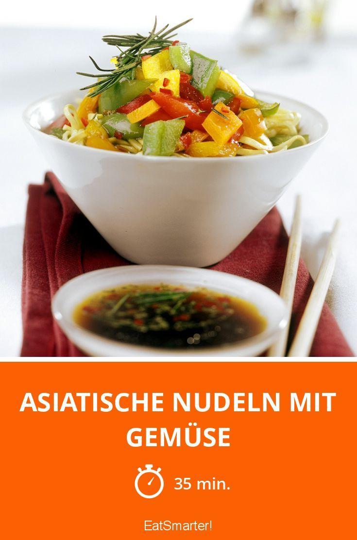 Asiatische Nudeln mit Gemüse