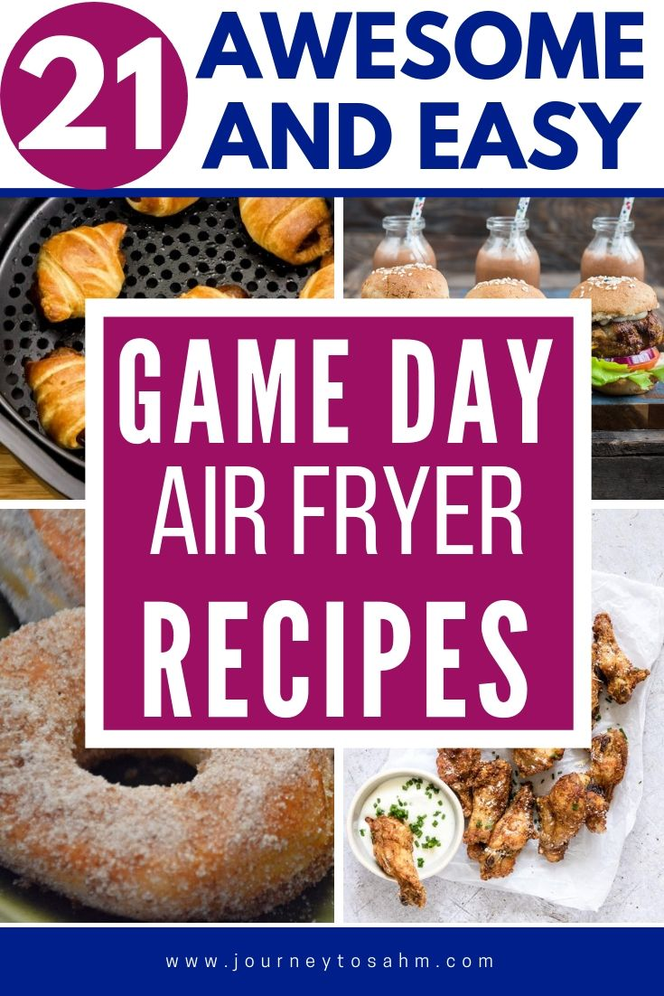 21 Delicious Air Fryer Super Bowl Recipes Your Friends Will Love Healthy Superbowl Snacks Food Recipes Clean Eating Snacks