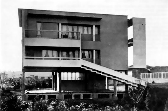 Villa pour un cultivateur par Giuseppe Terragni à Rebbio (1936)