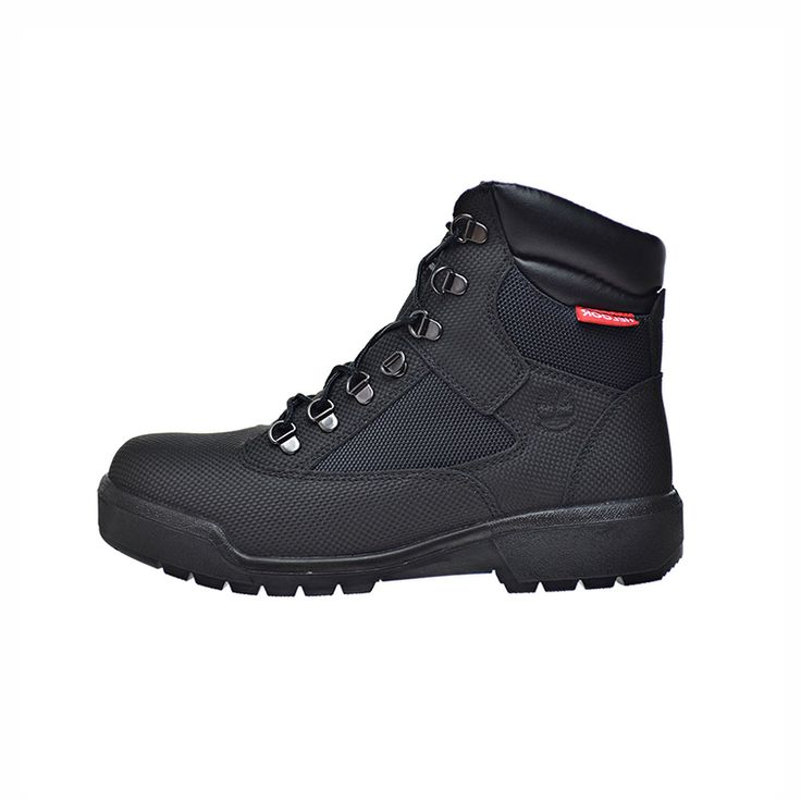 """TIMBERLAND 6"""" FIELD BOOT WATER PROOF MENS BOOTS - BLACK"""