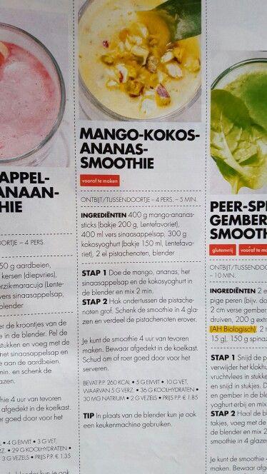Mango-kokos-ananas-smoothie