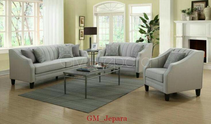 Sofa Tamu Vintage Retro Salur, sofa minimalis, kursi sofa murah, kursi sofa sudut, kursi sofa santai, kursi sofa tamu