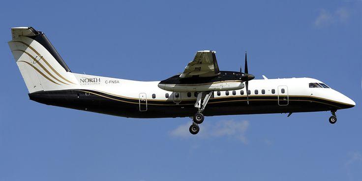 Bombardier Dash 8-300 авиакомпании North Cariboo Air