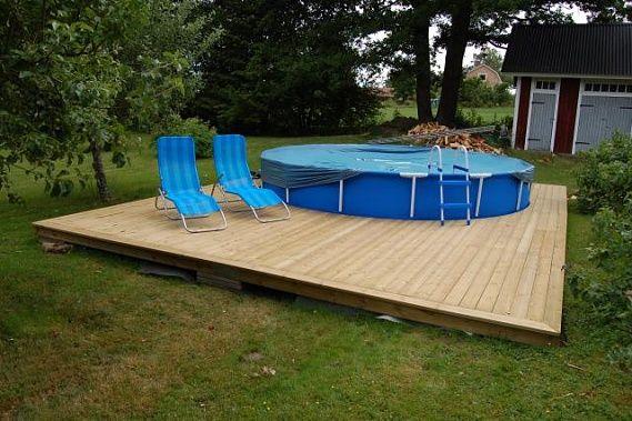 Dsc 1870 visningar sommarstuga pinterest for Intex pool billig