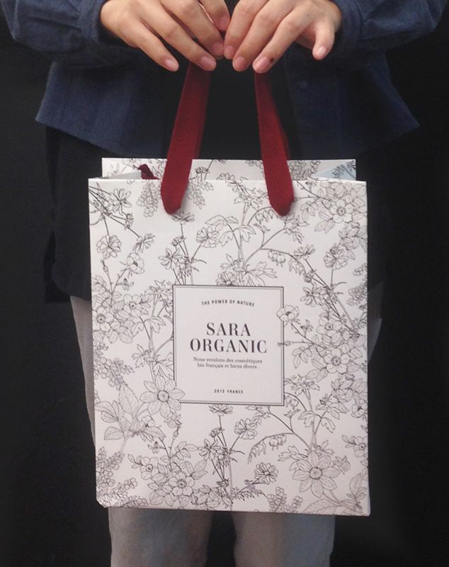 papaer bag Design Print Graphic Fashion 紙袋 デザイン 印刷 グラフィクデザイン ファッション  Papírová dárková taška