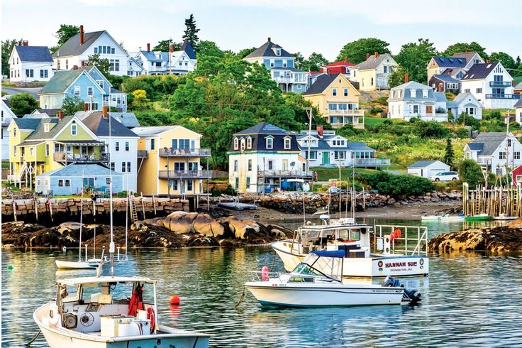 Maine's 10 Prettiest Villages - Down East
