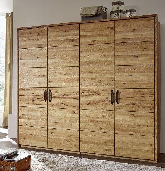 Massivmoebel24 I Massivholzmobel Versandkostenfrei Bestellen Kleiderschrank Eiche Kleiderschrank Holz Kleiderschrank