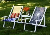 Anthropologie inspired Beach Chairs