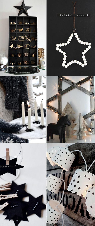 jul stjärnor pyssel dekorera hem inredning inspiration tips ide julpyssel