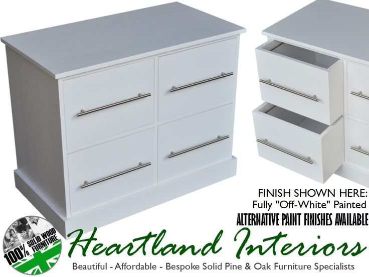 A4 4 Drawer Contemporary Filing Cabinet