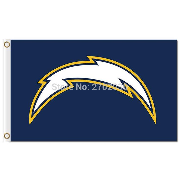 San Diego Chargers Flag Skyline Large Outdoor 3 X 5ft Banner Flag World Series Football Team San Diego Chargers Banner