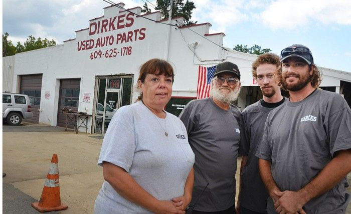 Dirkes Used Auto Parts in Hamilton Township has been recycling car parts for generations