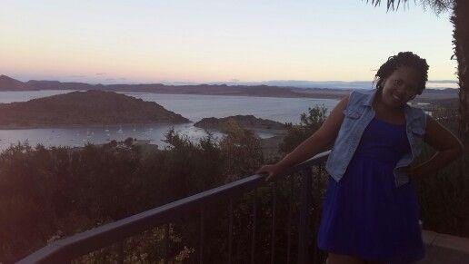 Amazeball view, couldn't resist.#gariepdam