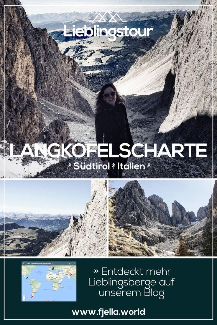 Lieblingswanderung in Südtirol über die Langkofelscharte. Erfahrt alles zu dieser Wanderung in den Dolomiten auf unserem Blog. #berge #wandern #wanderungen #wandertouren #wanderrouten #alpen #dolomiten #südtirol #gebirge #lieblingsorte Berge, Wandern, Wanderwege, Wanderungen, Wanderroute, Wandertour, Alpen, Gebirge, Weltweit, Lieblingsberge, Lieblingstouren