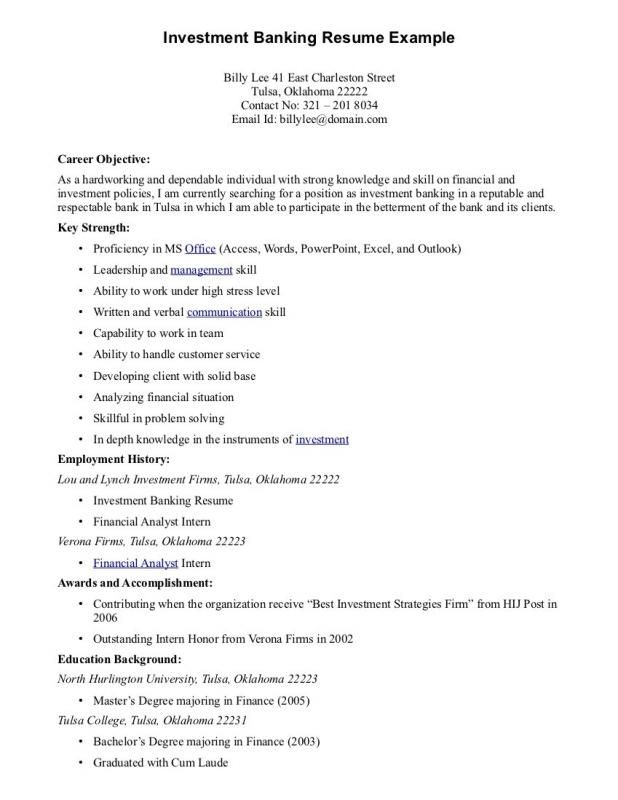 Best Resume Objectives