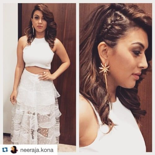 Hansika Motwani's hairstyles are varied and cutting edge.If you are into fashionable hairstyles then you can definitely learn a thing or two from Hansika. From curly bobs to intricate braids Hansika has tried them all and gives us a taste of each. Check her hairstyles out and get inspired on how to style your own …