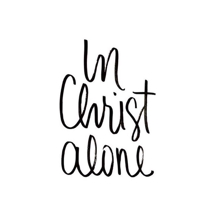 Forever Free in Unending Grace — simply-divine-creation:   In Christ alone my hope...