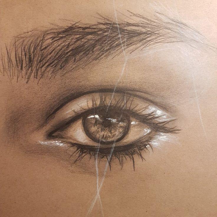 #eye #art by Klaudia Orłowska