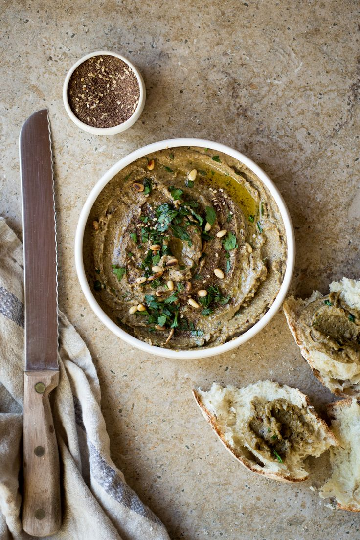 This eggplant dip packs a lovely bite from the addition of miso and za'atar. It's a simple dip or condiment that you can serve with raw vegetables or to accompany meat or fish. Our favorite way to enjoy it however is with thick slices of sourdough bread. It's a great way to use up all …
