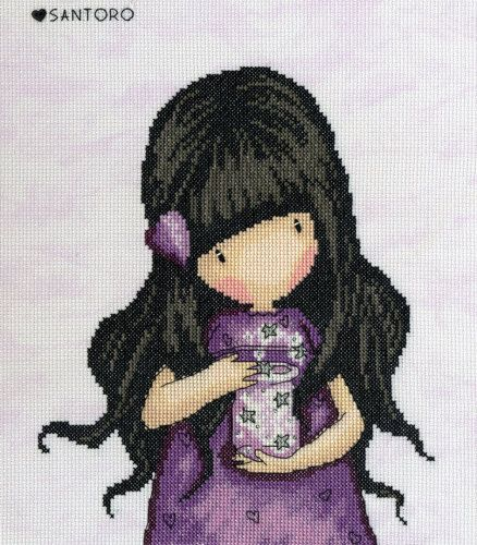 We Can All Shine Gorjuss cross stitch kit
